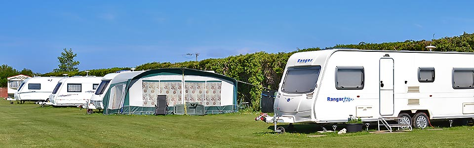 touring caravans with awning